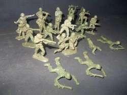 Milchucherias Lote De 26 Soldaditos Verdes 183