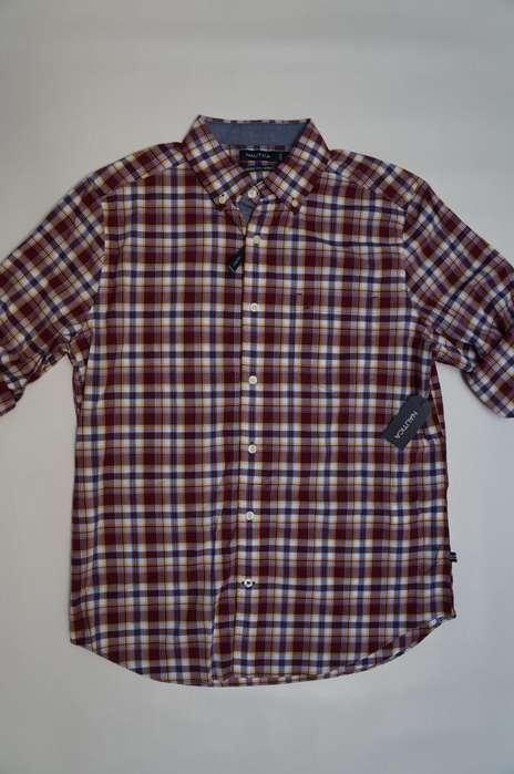 Camisa Nautica M Original Nueva