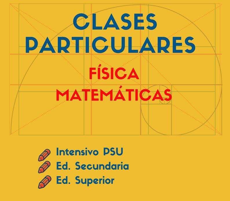 CLASES PARTICULARES PARA TODOS LOS NIVELES