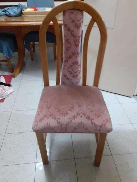 <strong>sillas</strong> de Madera Y Pana