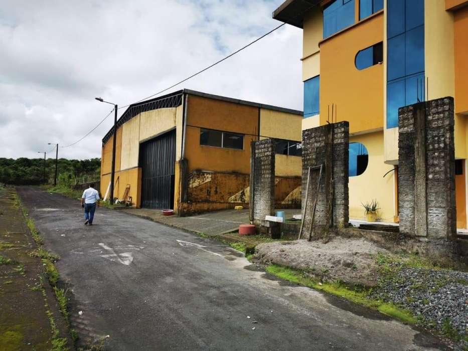 Venta Terreno con Galpon y Casa Ideal Para Empresas, Santo Domingo