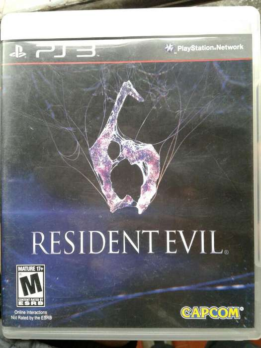 Resindent Evil 6 Ps3
