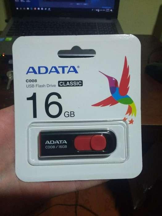 Flash Dirver Usb Memoria 16gb Adata