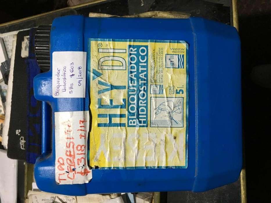 Bloqueador Hidrostatico para Humedad de Cimientos x 5 lts
