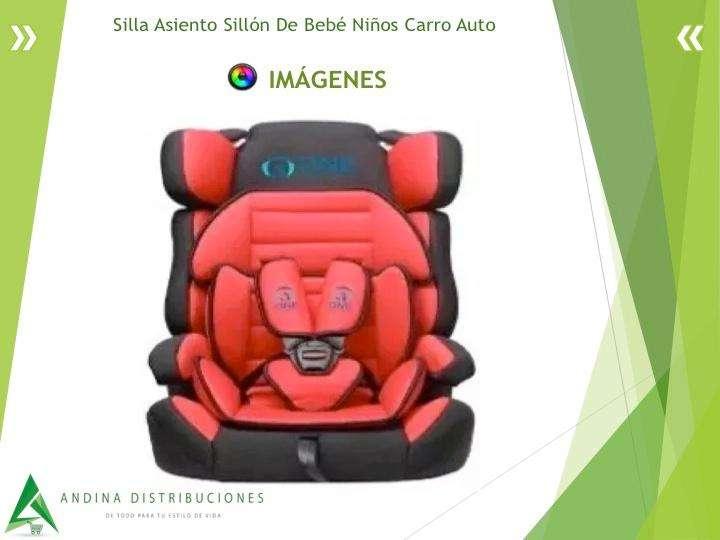 Silla Asiento Sillón De Bebé Niños Carro Auto