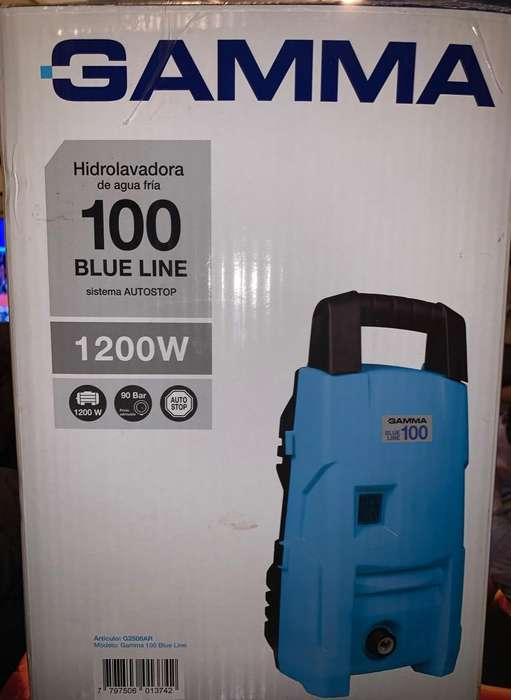 <strong>hidrolavadora</strong> Gamma 100 Blue Line Nueva