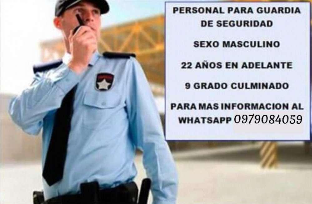 Solicito Guardias de Seguridad con Exper