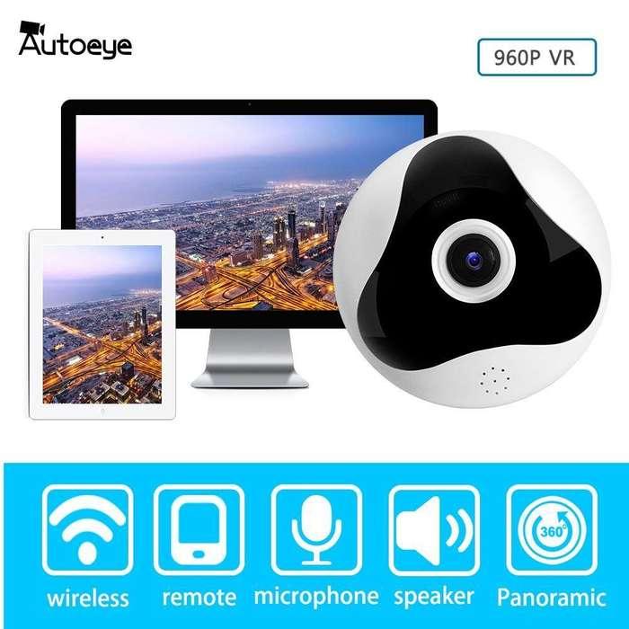 Camara IP WiFi Panoramica 360 Grados 960p