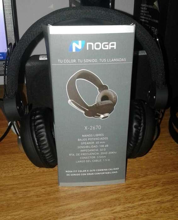 auriculares noga x2670 manos libres