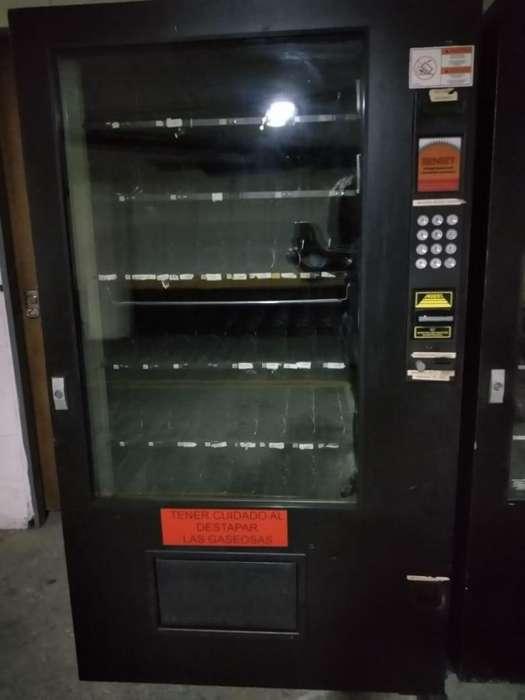 Máquina dispensadora de snacks y gaseosas (Combi Automática), Máquina Vending