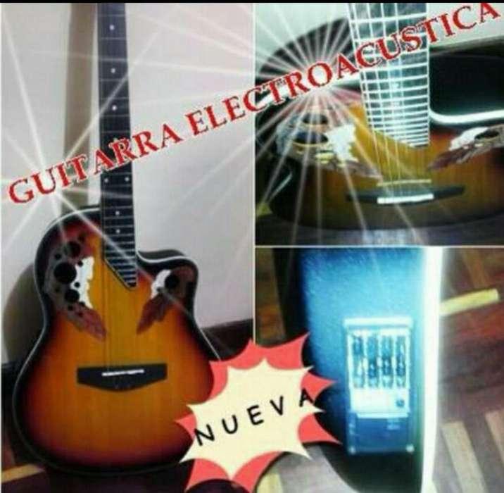 Guitarra Electroacústica Nueva