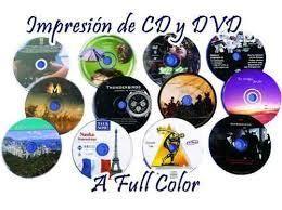 IMPRESION DE CD DVD EN CARTAGENA