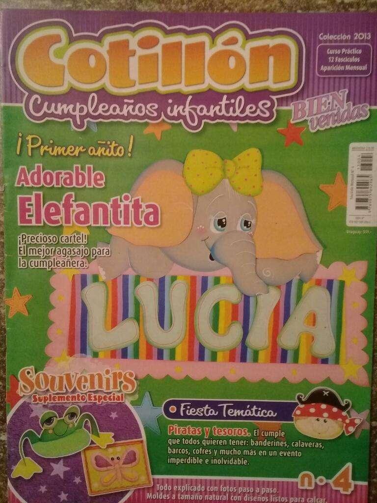Cotillón Cumpleaños Infantiles N4 2013