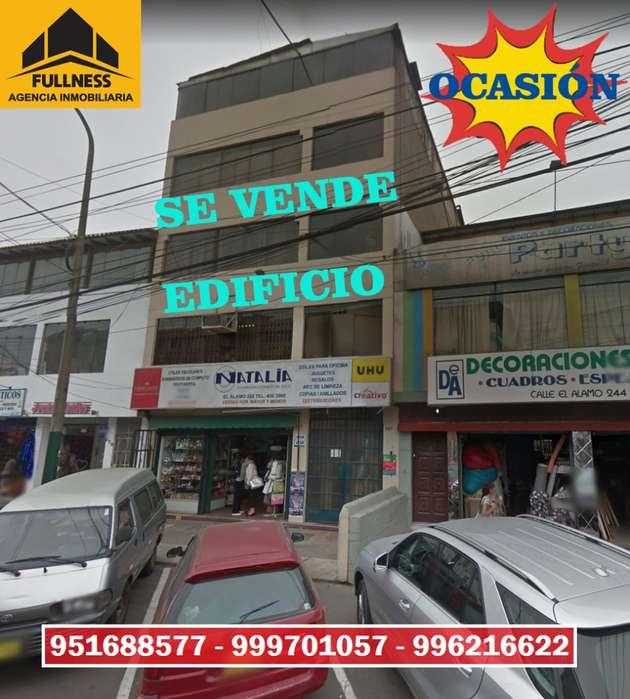SE VENDE EDIFICIO COMERCIAL DE 4 PISOS EN SURCO