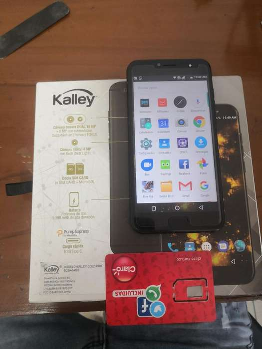 Vendo Celular Kalley Gold Pro