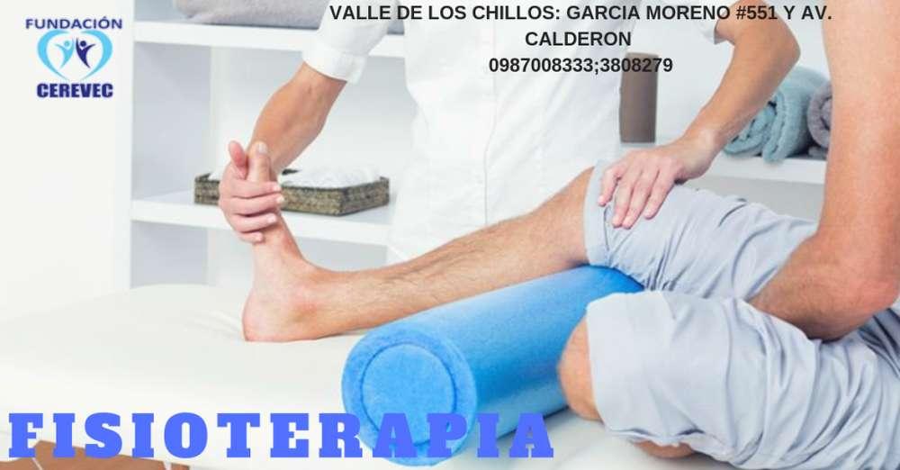 7,oo - FISIOTERAPIA - VALLE DE LOS CHILLOS - 0987008333