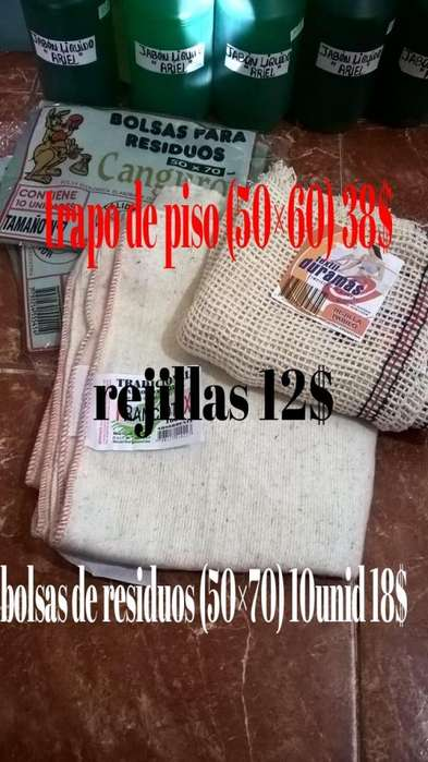 bolsas de residuos 50x70. 10unid 30