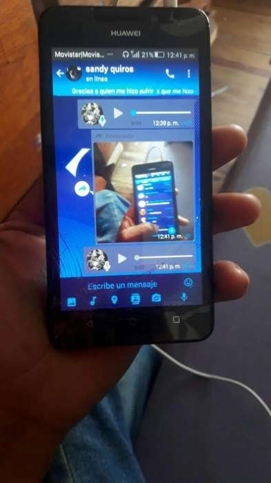 Cel Huawei Y6 Vale Todo