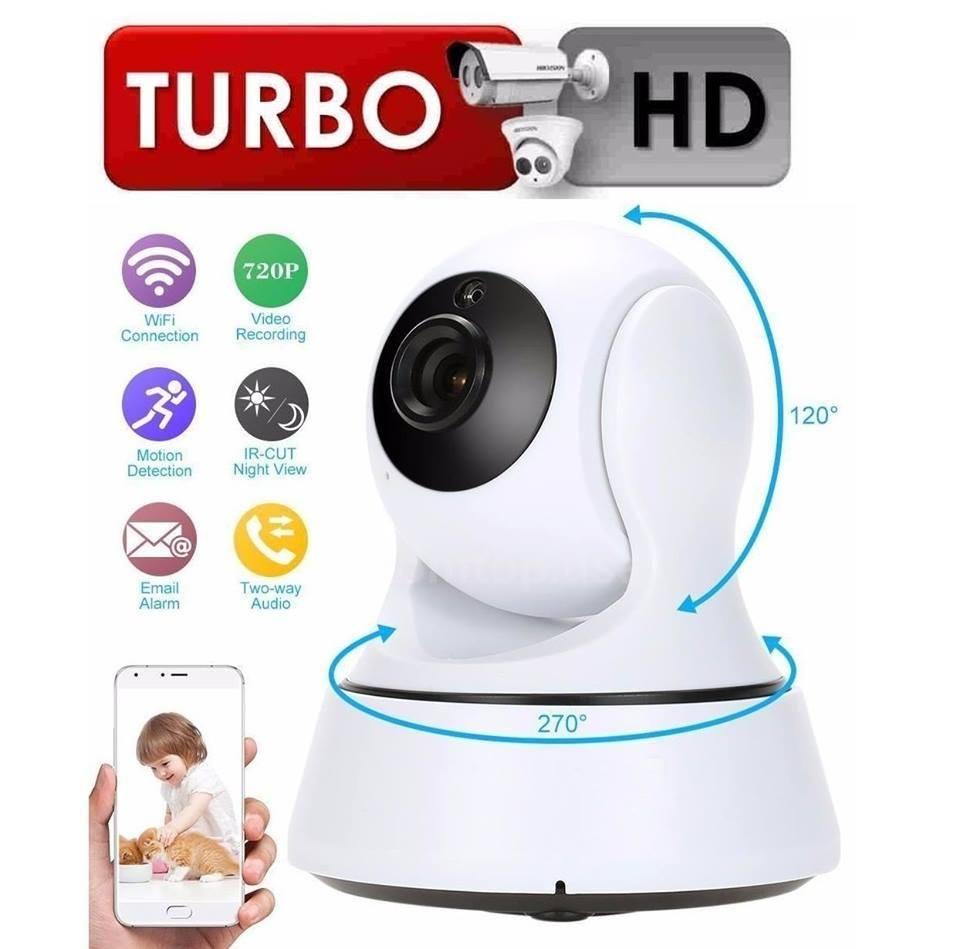 Camara Seguridad Robotica ip Vigilancia WIFI TURBOHD 720P Nueva