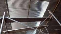 mantenimiento techos placas goteras
