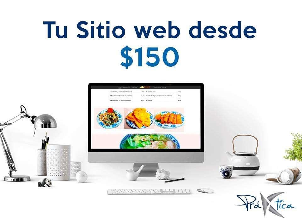 Páginas Web desde 150 - Publicidad en Facebook desde 60.00