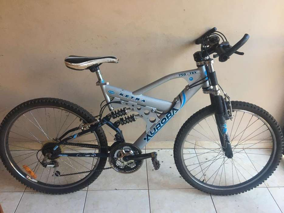 Vendo Bicicleta Aurora Triple Suspension