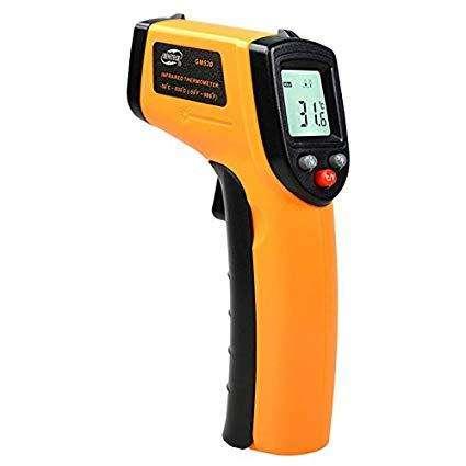 Termómetro Digital Infrarrojo 50 a 320 / 50 a 1150 / 50 a 1350 C