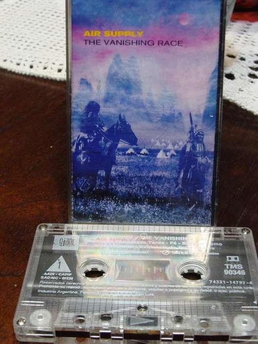 Air Supply - The Vanishing Race - Cassette ARG