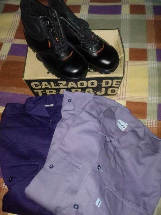 Zapatos de Seguridad Y Camisas Ombu