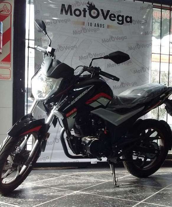 Moto Guerrero Gr1 200 12 cuotas Con Tarjeta, Tipo <strong>yamaha</strong>. MOTOVEGA