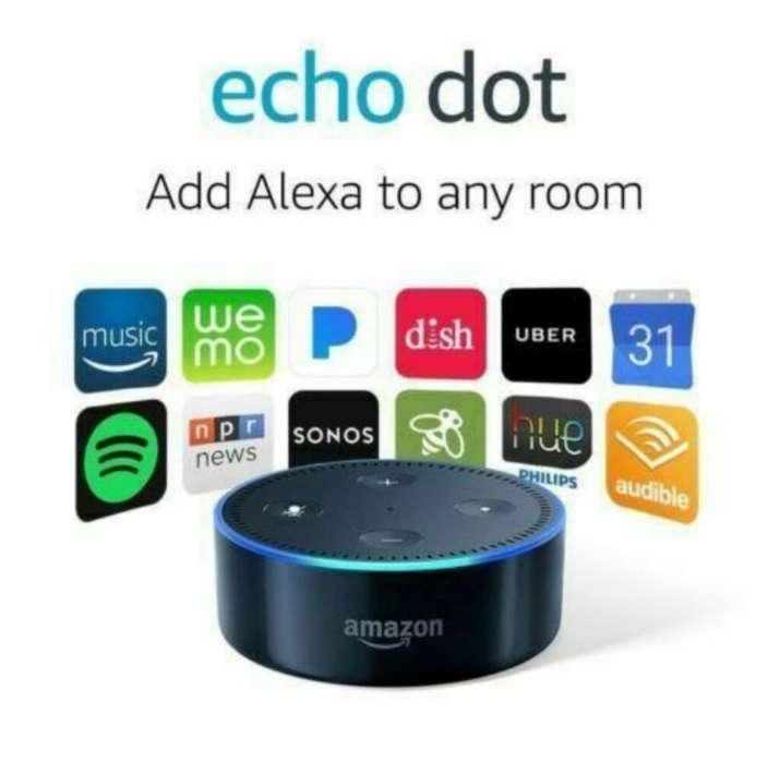 Amazon Echo Dot (2 Generación) Negro