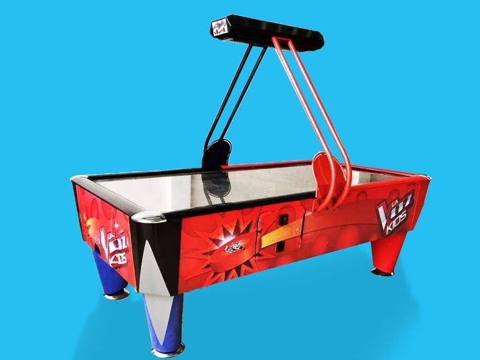 Alquiler Maquinas Hockey Caza Peluches Recreación