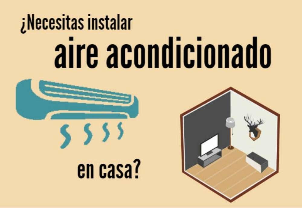 Instalacin de aire acondicionado split
