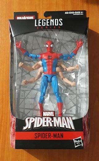 Marvel legends Six Arm Spiderman Gi joe motu heman dc universe star wars