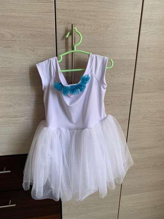 Vestido de Niña para 5-7 Años