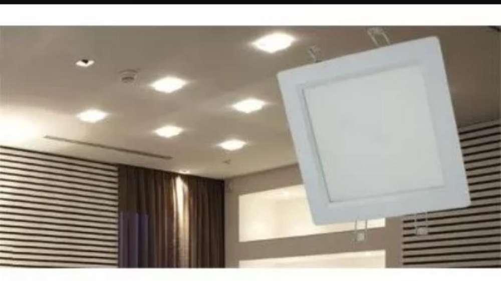 Panel Led Cuadrado 20 W Incrustar Luz Bl
