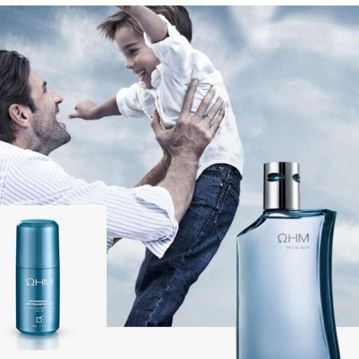Colonia Ohm Y Desodorante Unique