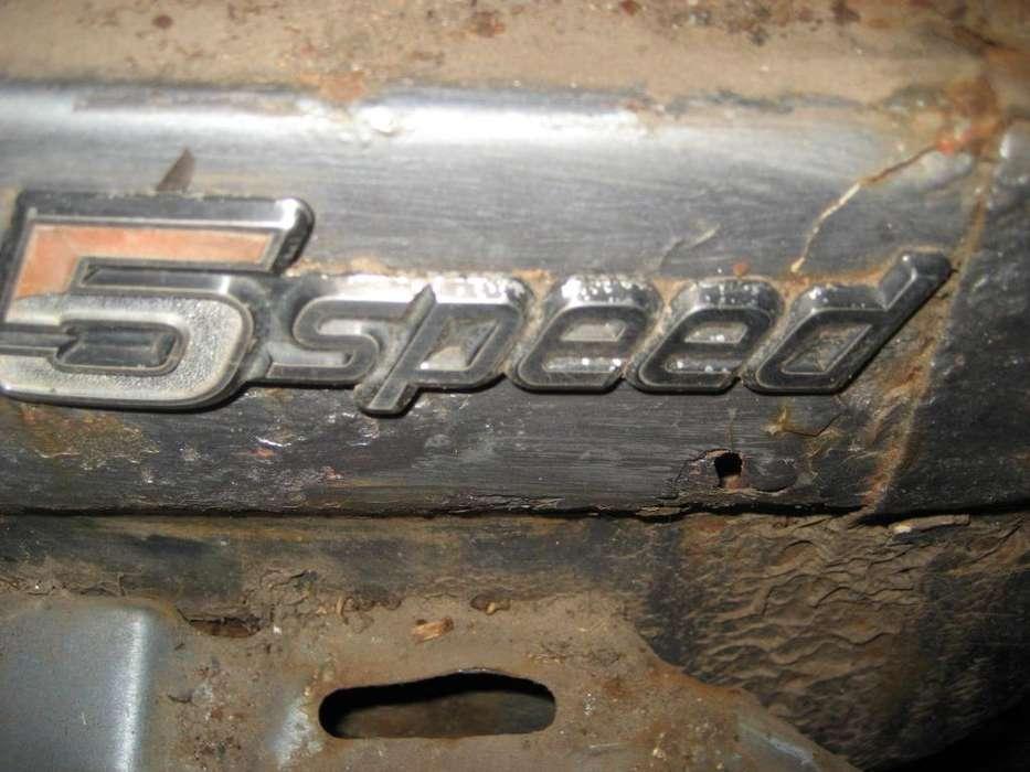 emblema tapa de baúl honda accord 79/82
