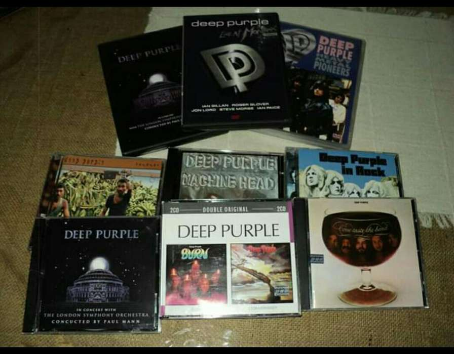 Cds Deep Purple Originales