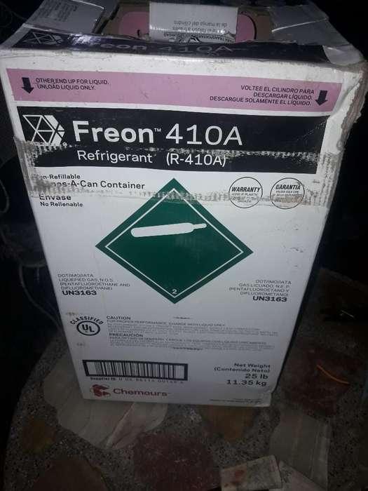 Garrafa Gas Freón 410a de 11.350 Kg