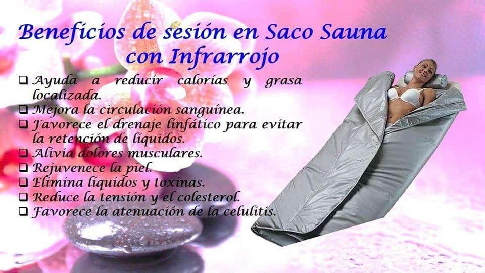 Saco Sauna con Infrarrojo Weelko