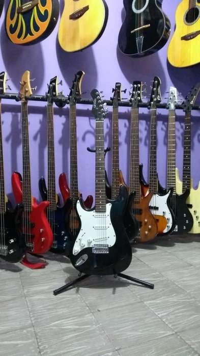 Guitarra Eléctrica Texas Modelo Zurda