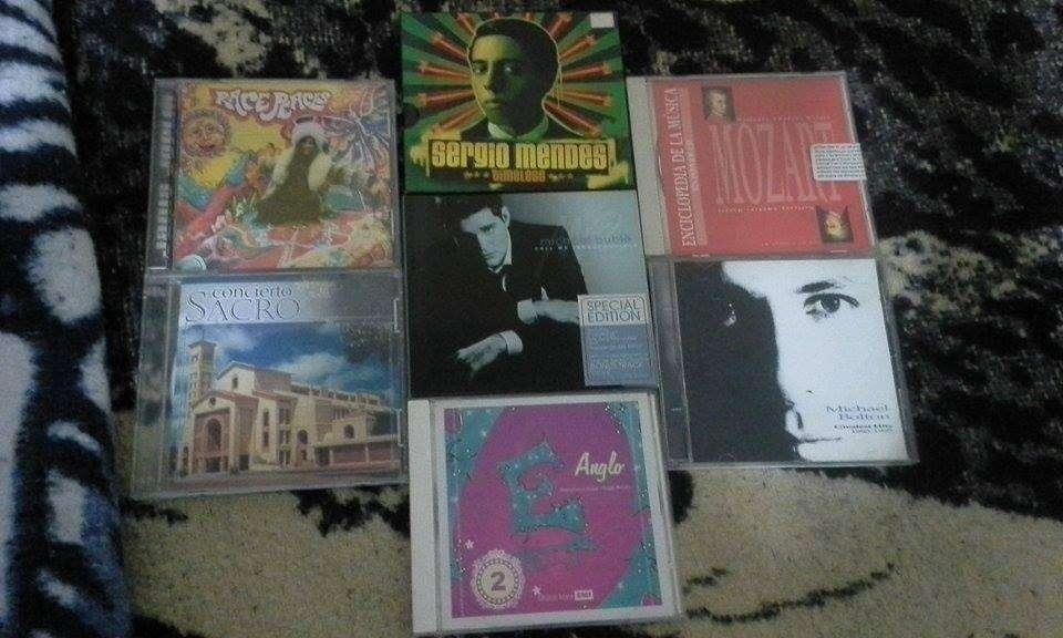 CDS ORIGINALES: SERGIO MENDEZ, MICHAEL BOLTON, MICHAEL BUBLE, JANIS JOPLIN, ETC