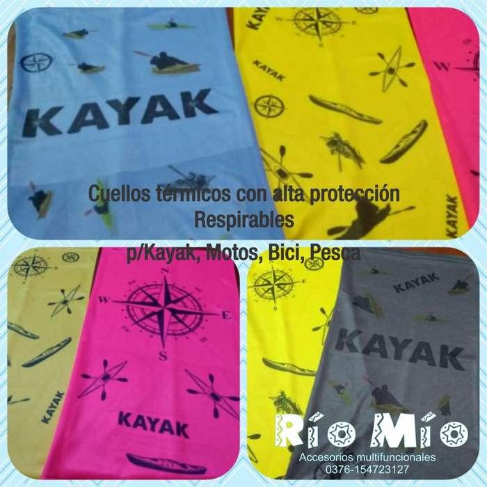 Cuellos Térmicos Kayak Moto Mtb