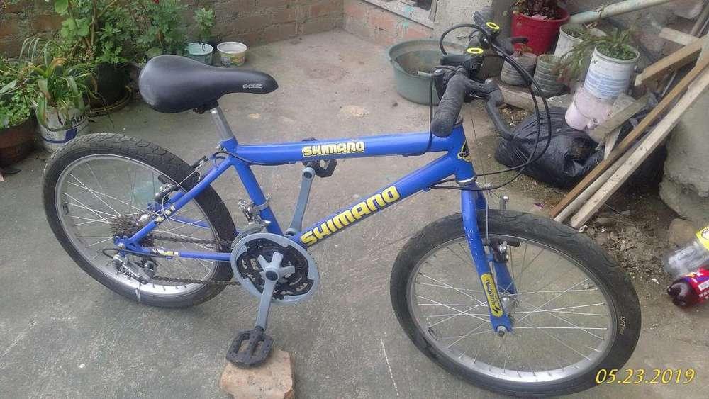 Vendo bicicleta nio