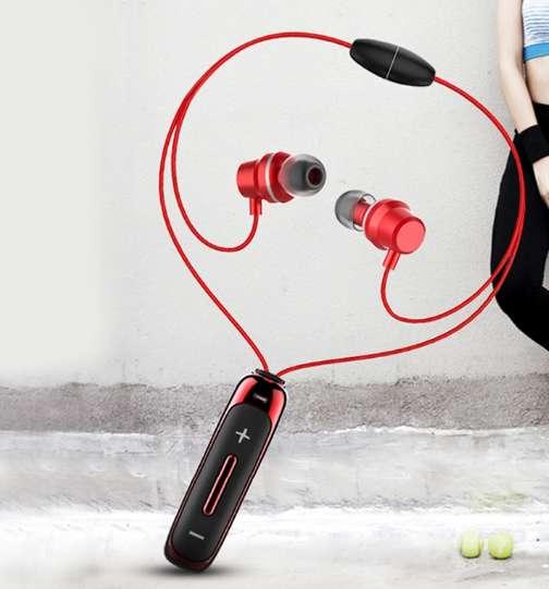 Auriculares Bluetooth con Micrófono Deporte Magnético Smartphone