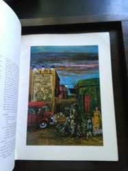 Cuatro hombres de pueblo . Libro Arte . Sabato Berni 1979 Ilustrado numerado 1154