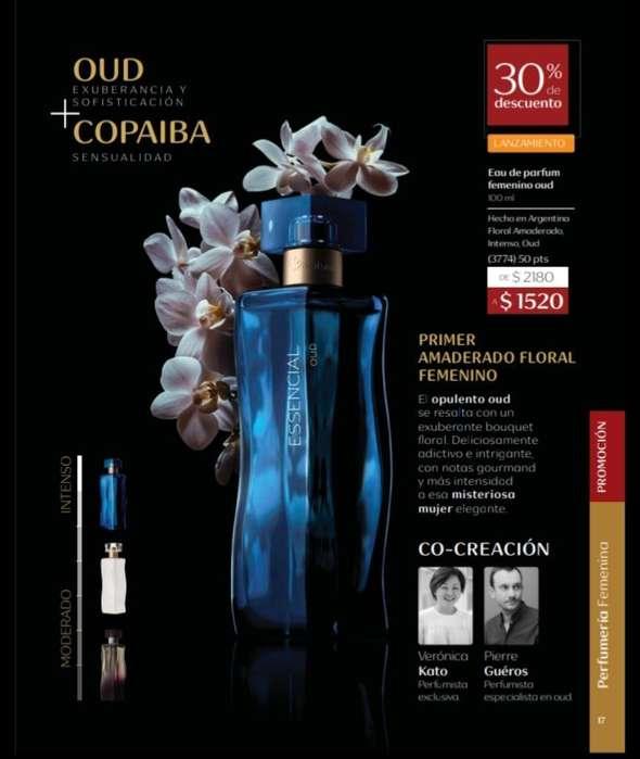 Perfume Essencial Oud Natura Superoferta