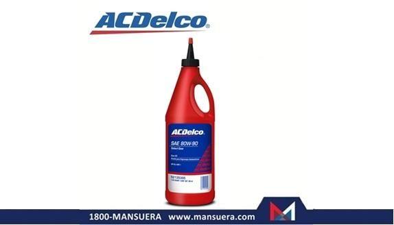 ACEITE ACDelco 80W90 GL5 MT1 CUARTO