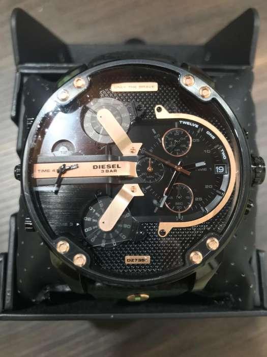 Reloj Diesel Mr. Daddy DZ7350 Nuevo Para Hombre